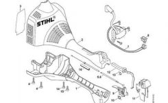 Solved: Replacing The Trottle Trigger On A Stihl Fs 45 – Fixya for Stihl Fs 46 Parts Diagram