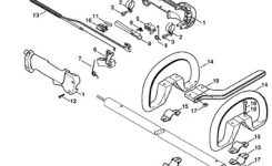 Spare Parts For Machinery Of Garden / Repuestos Para Maquinas De pertaining to Stihl Fs 85 Parts Diagram