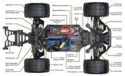 Stampede 4X4 Vxl – Rcmarket B.v.b.a pertaining to Traxxas Stampede 4X4 Parts Diagram