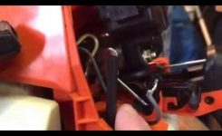 Stihl 025 Chainsaw On Off Choke Switch Problem And How I Fixed It intended for 025 Stihl Chainsaw Parts Diagram