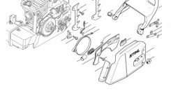 Stihl 290 Parts Diagram | Periodic & Diagrams Science intended for Stihl Chainsaw Ms170 Parts Diagram