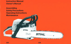 Stihl Chainsaws 29 Pdf Owner's Manual Free Download & Preview regarding Stihl 029 Parts List Diagram