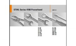 Stihl Fc Fs Hl Km Fh Fr Series Trimmer / Pruner Service Repair pertaining to Stihl Ht 101 Parts Diagram