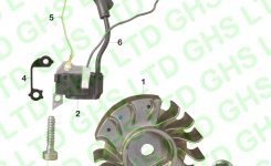 Stihl Ms170 Ignition System in Stihl Ms 170 Parts Diagram