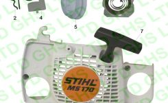 Stihl Ms180 Recoil Starter in Stihl Chainsaw Ms170 Parts Diagram