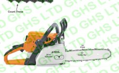 Stihl Ms250 Guide Bar & Chain throughout Stihl Ms250 Chainsaw Parts Diagram