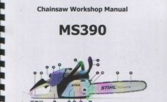 Stihl Ms390 Chainsaw Workshop Manual regarding Stihl Ms 390 Parts Diagram