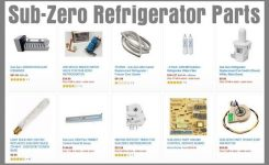 Sub-Zero Refrigerator Freezer Error Codes | Removeandreplace for Sub Zero Refrigerator Parts Diagram