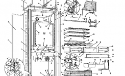 Sub-Zero Refrigerator Parts | Model 241Rfd | Sears Partsdirect for Sub Zero Refrigerator Parts Diagram