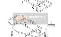Suzuki Lt-A700X Kingquad 4X4 2007 Spare Parts – Msp with Suzuki King Quad Parts Diagram