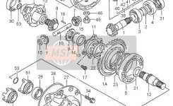 Suzuki Lt-F300F Kingquad 4X4 2001 Spare Parts – Msp for Suzuki King Quad 300 Parts Diagram