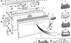 Tailgate And Parts | 1999-15 Ford F250 – F350 – F450 – F550 Super for 2000 Ford F150 Parts Diagram