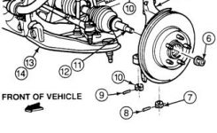 The Ford Ranger Front Suspension inside 1994 Ford Ranger Parts Diagram