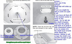 Tips For Removing A Stuck Tub In A Whirlpool Cabrio / Kenmore within Kenmore Oasis Washer Parts Diagram