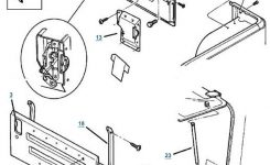 Tj Wrangler Tailgate Parts – 4 Wheel Parts inside 2000 Jeep Wrangler Parts Diagram