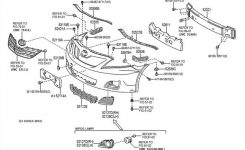 Used 2007 Toyota Camry Front Body Parts – Hollander Parts intended for Toyota Camry Body Parts Diagram