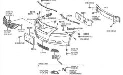 Used 2007 Toyota Camry Front Body Parts – Hollander Parts with Toyota Camry 2007 Parts Diagram