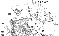 Volkswagen Workshop Manuals > Golf Mk4 > Engine > 4-Cyl. Injection in Vw Golf Mk4 Engine Diagram