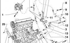 Volkswagen Workshop Manuals > Golf Mk4 > Engine > 4-Cylinder pertaining to Vw Golf Mk4 Parts Diagram