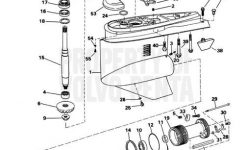 Volvo Penta Exploded View / Schematic Lower Gear Unit Sx-S, Sx-St in Volvo Penta Sx Parts Diagram