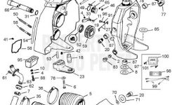 Volvo Penta Exploded View / Schematic Transom Shield Sx-C, Sx-C1 throughout Volvo Penta Sx Parts Diagram