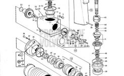 Volvo Penta Exploded View / Schematic Upper Gear Unit Aq Drive pertaining to Volvo 280 Outdrive Parts Diagram