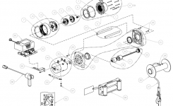 Vr10000 Warn Authorized Parts And Service Center throughout Warn Winch 2500 Parts Diagram