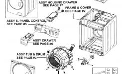 Washer Samsung Front Load Washer Parts Diagram Ideas Frigidaire within Samsung Front Load Washer Parts Diagram