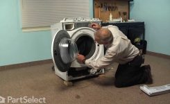 Washing Machine Repair – Replacing The Door Bellow (Whirlpool Part for Kenmore He2 Plus Washer Parts Diagram