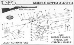 Western Auto Revalation Model 205 30-30 Lever Action Question regarding Marlin 30 30 Parts Diagram