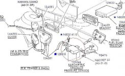 Where Is My Map Sensor? – Taurus Car Club Of America : Ford Taurus in 1996 Ford Taurus Engine Diagram