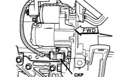 Where Is The Crankshaft Position Sensor Located On A 2004 2.4L inside 2004 Chrysler Sebring Engine Diagram