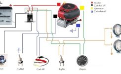 Wire Diagram For Most B&s Engines in Small Engine Ignition Switch Wiring Diagram