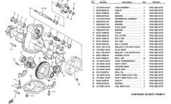 Yamaha Parts Manuals 1979-2004 – Download Manuals & Technical regarding Yamaha Golf Cart Parts Diagram