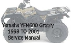 Yamaha Yfm600 Grizzly Service Manual – Download Manuals & Tech throughout Yamaha Grizzly 600 Parts Diagram